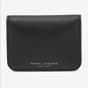 MARC JACOBS Folded Card Case Wallet